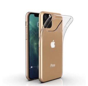 iPhone 11 Pro Max Transparent Klar Schutzhülle Silikon Case dünne Handyhülle