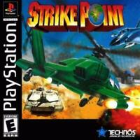 Strike Point Playstation Game PS1 Used Complete