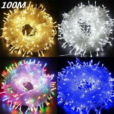 Waterproof Outdoor 220V LED String Light Christmas Tree New Year Lamp Garland