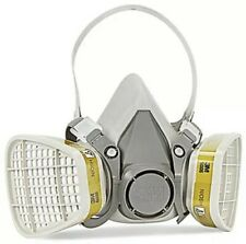 New Listing3m 6300 Half Face Respirator With 3m 6006 Multi Gasvapor Cartridge Size Large