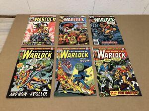 Marvel Comics Comic Book Lot Warlock #3 #5 #6 #10 #11 #13
