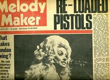 DOLLY PARTON' THE SEX PISTOLS  MELODY MAKER  1977