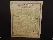 Missouri Harrison County Map Madison Township  1917   Q5#82