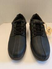 Earth Spirit Vegan Men's Powell Oxford Shoe Cushioned Black Size 10.5