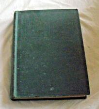 1921 EVANGELICAL PUBLISHING HOUSE HYMNAL GREEN BOOK HYMNS GOSPEL HARRISBURG PA