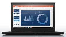 "Lenovo ThinkPad T560 Laptop i7-6600U 256GB SSD 16GB 15.6"" 1080P CAM FPR WIN10 PO"