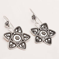 925 Sterling Silver Indian Ethnic Banjara Earrings Gypsy Hippie Fine Jewelry New