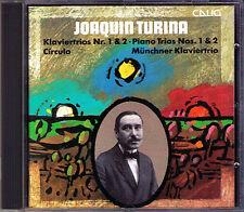 Joaquin TURINA Piano Trio No.1 & 2 Circulo Fantasy MÜNCHNER KLAVIERTRIO CD CALIG