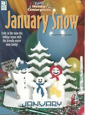Easy Holiday Centerpieces Plastic Canvas Pattern Booklets (YOU CHOOSE)