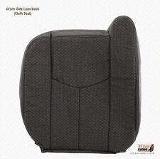 2003 2004 Chevy Silverado 2500 2500HD - Driver Lean Back Cloth Cover Dark Gray