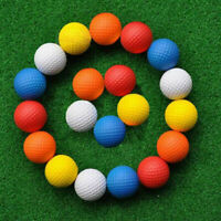 1/5/10 pcs PU Foam Golf Balls Sponge Elastic Outdoor hot Training Ball Prac M9R3