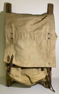 VINTAGE TRAPPER NELSON'S INDIAN PACK BOARD CAMP BACKPACK TRAGER MFG CO SEATTLE W