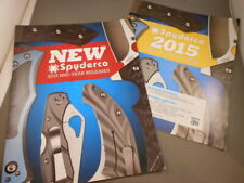 Spyderco USA Knives 2015 MID YEAR Knife Product Guide Catalog & Price Guide