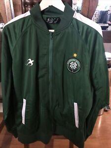 Innes Flogging Molly Track Jacket XL Tour Punk Irish Rare Soccer Celtic FC