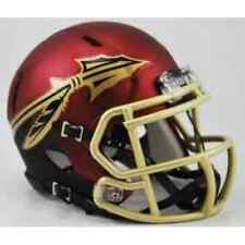 FLORIDA STATE SEMINOLES NCAA Riddell SPEED Authentic MINI Football Helmet FSU