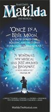 MATILDA the Broadway Musical the flyer/card ONCE IN A BLUE MOON plus one EXTRA