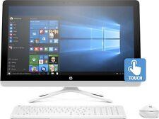 """HP 24-g085na tactile 23.8"""" tout-en-un AMD A8 Quad Core 2.2GHz 1 To Windows 10 pc"""