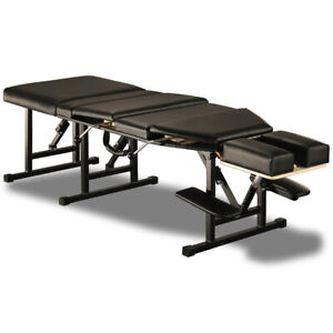 NEW! ELITE PORTABLE FOLDING CHIROPRACTIC TABLE - FOLDING CHIRO DROP TABLE