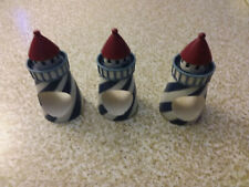 Set Of 3 Light House Napkin Rings Holders Beach Nautical Decor Replacements