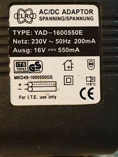 CELRO YAD Netzteil Netzgerät Power Supply AC DC Adaptor 16V 550mA Equipment