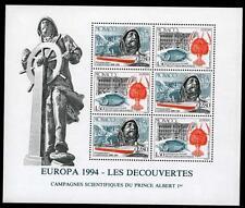 1994 MONACO BLOC N°65 DENTELE  EUROPA xx
