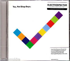 CD Pet Shop Boys YES ELECTROSPECTIVE Stickered Parlophone Last EMI Pressing NEU