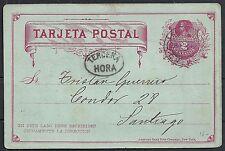Chile 1888 local PC Santiago TERCERA HORA