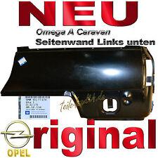 NEU orig GM Seitenteil Opel Omega A Kombi aussen hinten Links Seitenwand 183170