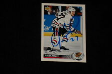 JEREMY ROENICK 1992-93 UPPER DECK SIGNED AUTOGRAPHED CARD #274 BLACK HAWKS
