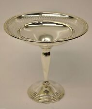 Vintage Farmington Sterling Silver Weighted Candy Dish Pedestal Bowl