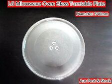 LG Microwave Oven Glass Turntable Plate Platter 340mm Suits Many Brand (W12) New