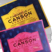 Canson heritage artists watercolour paper sheet cotton 300gsm 640gsm