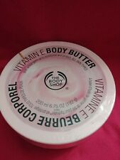 The Body Shop Vitamin E Body Butter 6.75 Oz/NEW/SEALED {{FREE SHIP}}