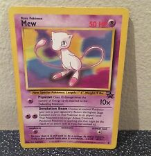 Pokemon MEW BLACK STAR ULTRA PROMO #8 RARE CARD!  AWESOME! MINT NON HOLO ULTRA