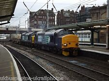British Rail / DRS 37218 & 611 (6S43) Carlisle to Torness Rail Photo