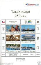 Chile 2014 Brochure 250 años Talcahuano