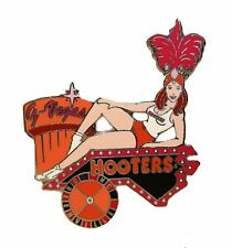HOOTERS RESTAURANT GIRL G VEGAS NIGHT GREENVILLE NC NORTH CAROLINA LAPEL PIN