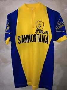 Maglia Shirt Jersey Cycling Gelati Sammontana 80s Tg 2 Perfect