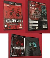 NINTENDO GAME CUBE KONAMI METAL GEAR SOLID TWIN SNAKES
