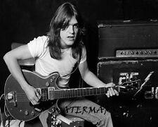 Malcom Young AC/DC Black & White  8 X 10 Portrait Photo Picture