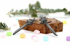 Final Fantasy 15 Engine Blade Earrings- Stainless steel Stud- FFXIV Gift Noctis