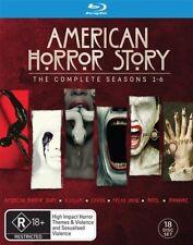 American Horror Story : Season 1-6 (Blu-ray, 2017, 18-Disc Set)