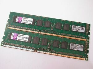 Kingston KTH-PL316E/8G Memory Ram Two Pieces DDR3