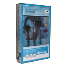 Grundig 51539 Metal Stereo Earphone