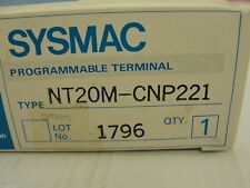 New Omron Sysmac Programmable Terminal Type NT20M-CNP221