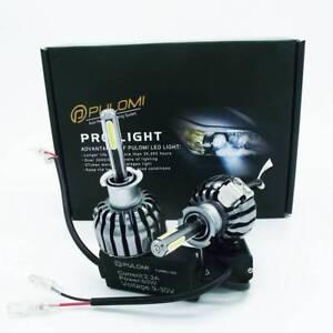 H3 120W 12800lm 4 Sides COB LED Headlight Kit Low Beam 6000K Bulbs White Lamps