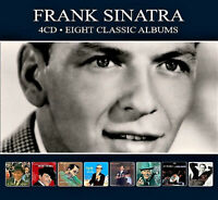 FRANK SINATRA * 4-CD Boxset  * 8 Eight Classic Albums * NEW * 98 Original Songs