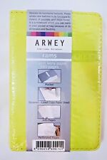 """Arwey """"Rams"""" 3.25"""" X 5"""" Blank 160 Page Notebook, Journal - Yellow"""
