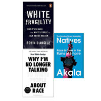 White Fragility,Why I'm No Longer,Natives 3 Books Collection Set PB NEW