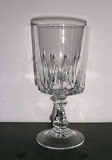 lot série de 6 verres a vin ROUGE  16,5 cl  cristal d'arques , modèle : LOUVRE